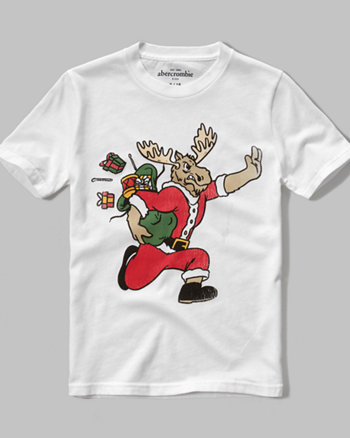 kids Christmas graphic tee