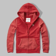 girls iconic two-tone fleece hoodie