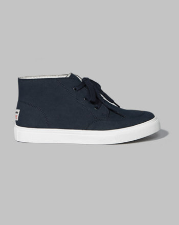 kids a&f high-top sneakers