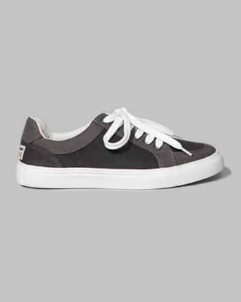 kids a&f lace-up sneakers