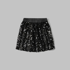 girls sequin skater skirt