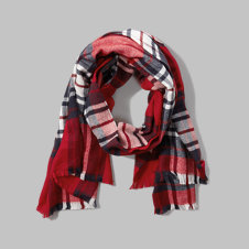 girls patterned scarf