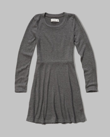 kids cozy sweatshirt dress