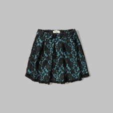 girls lace neoprene skirt