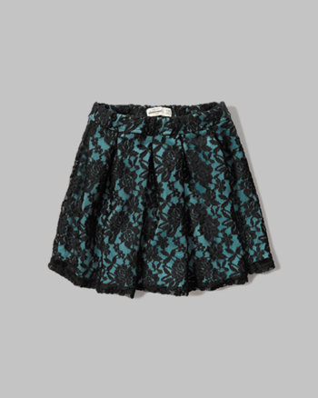 kids lace neoprene skirt