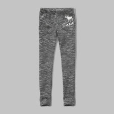 girls textured fleece leggings