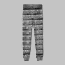 girls patterned sweater leggings