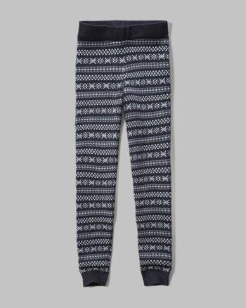 kids patterned sweater leggings
