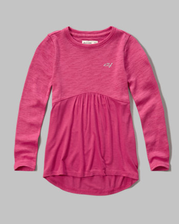 kids swing knit tee