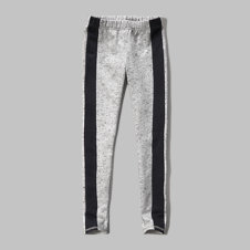girls a&f fleece leggings
