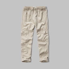 girls military twill pants