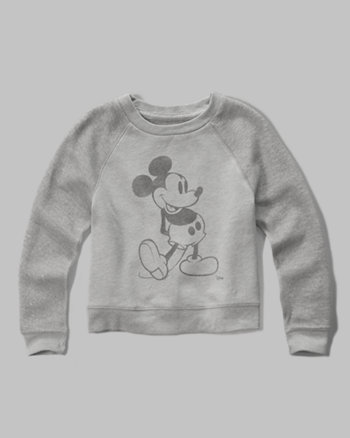 kids mickey mouse graphic sweatshirt