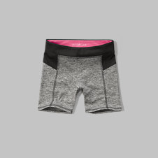 girls a&f sport bike shorts