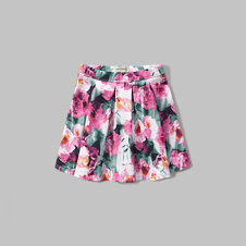 girls pleated neoprene skirt