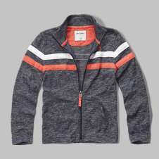 girls colorblock snit full-zip