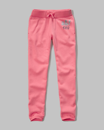 kids shine graphic banded jogger sweatpants