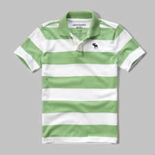 girls stripe polo