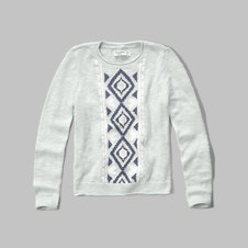 girls lightweight knit sweater