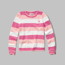 girls fine gauge sweater