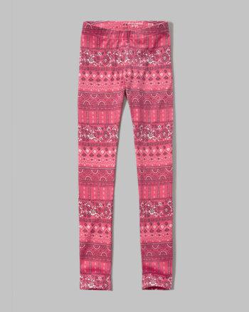 kids pattern leggings