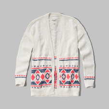 girls drapey cardigan