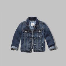 girls classic denim jacket