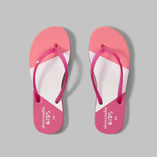girls rubber flip flops