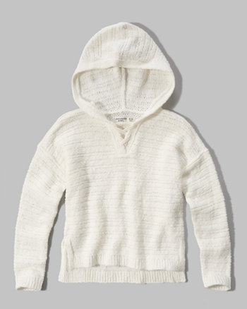 kids lace up sweater hoodie