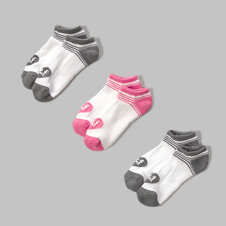 girls sporty ankle socks