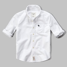 girls iconic oxford shirt