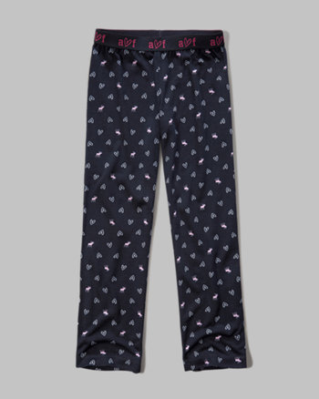 kids patterned sleep pants