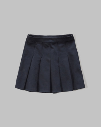kids uniform pleated skirt