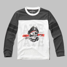 girls pirate graphic tee