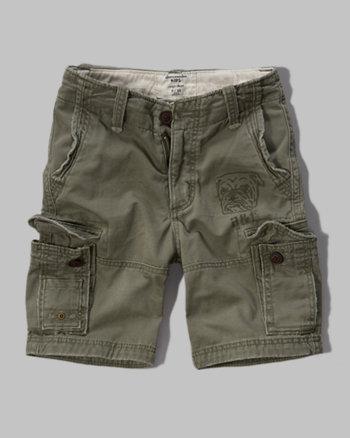kids a&f cargo shorts