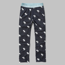 girls a&f sleep pants