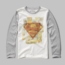 girls Superman graphic tee