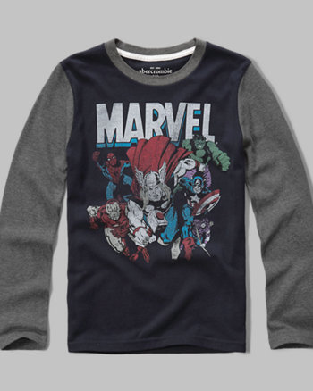 kids Marvel graphic tee