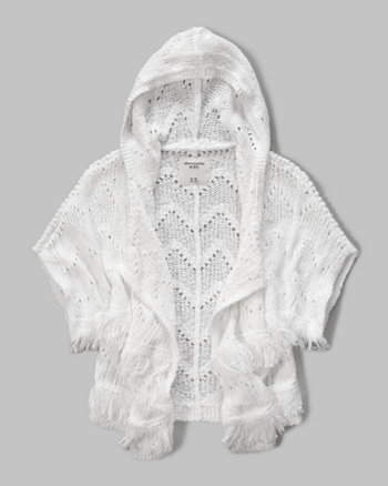 kids knit fringe cardigan