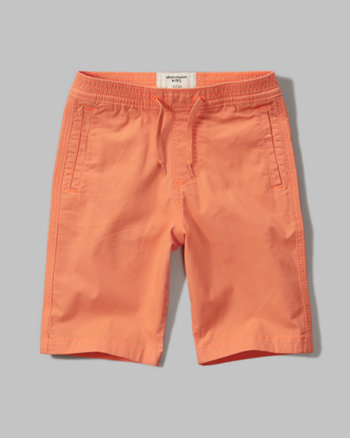 kids pull-on ripstop shorts