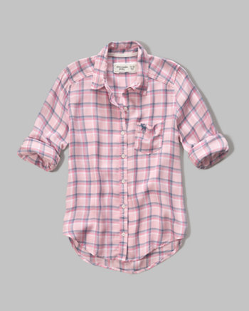 kids patterned boyfriend shirt