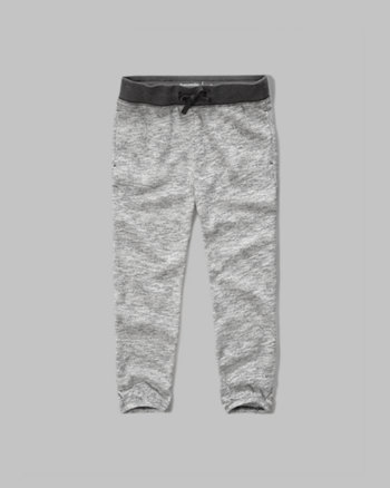 kids banded crop sweatpants