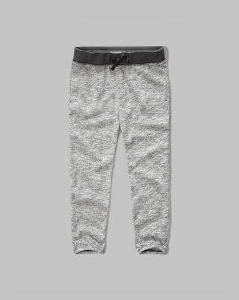 kids banded crop sweatpants