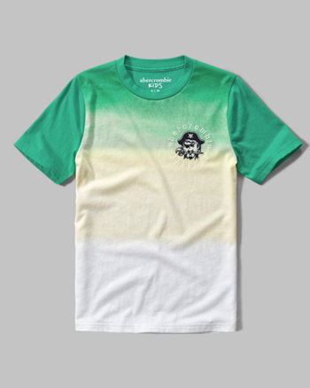 kids paradise graphic tee