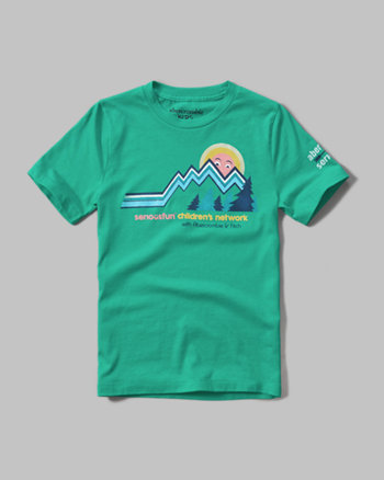 kids seriousfun graphic tee