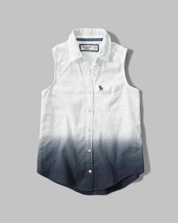 kids dip dye tunic shirt