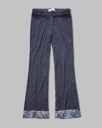 kids knit flare pants