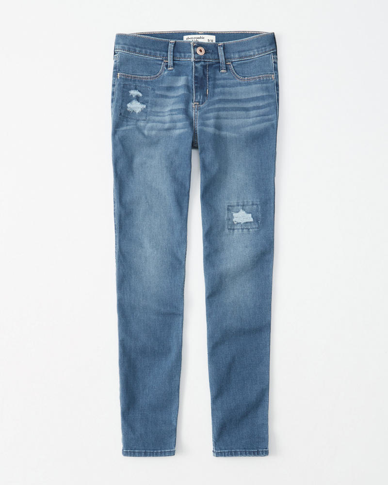 Ripped Jean Leggings by Abercrombie & Fitch