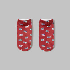 girls logo graphic socks