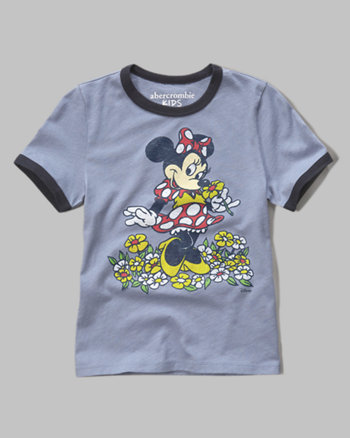 kids minnie mouse graphic tee