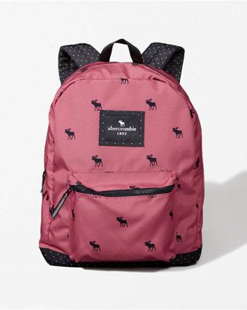 kids standard zip pocket backpack